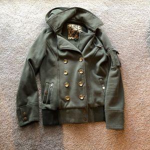 Sebby olive green coat